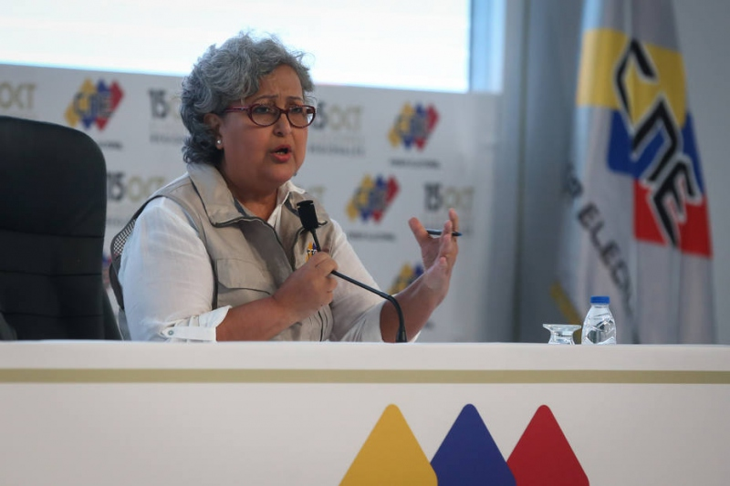 CNE announces results of regional elections in Venezuela